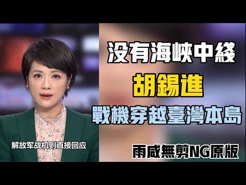 """解放军飞行员""""没有海峡中线""""胡锡进""""战机穿越台湾本岛"""""""