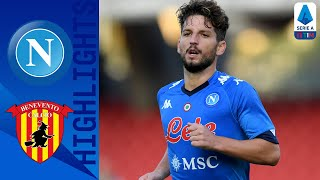 Napoli 2-0 Benevento | Mertens and Politano's goals enough to win at Benevento | Serie A TIM