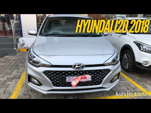 hyundai new i20 facelift 2018 youtube musicbaby. Black Bedroom Furniture Sets. Home Design Ideas