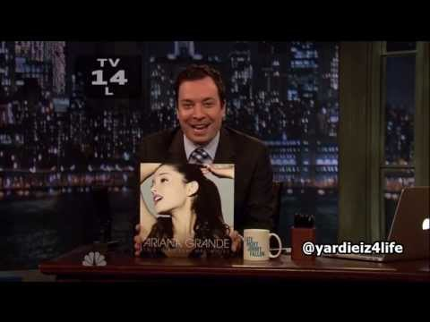 Baixar Ariana Grande - The Way ft  Mac Miller Live @ Late Night With Jimmy Fallon (720p)