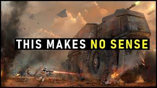 Why Star Wars Ground Battles Make No Sense