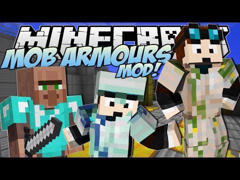 Minecraft   MOB ARMOURS MOD! (Meet Papa Trayaurus!)   Mod Showcase