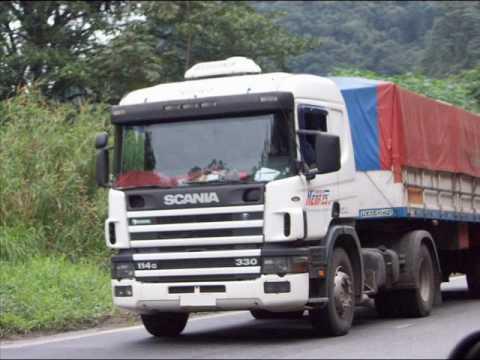 Homenagem aos caminhoneiros desse nosso Brasil