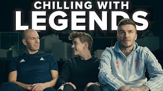 ROASTED BY BECKHAM AND ZIDANE | Savage interview with legends