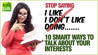 How To Talk About Your Interests in English? Learn 10 Smart & Advanced English Words  | Michelle