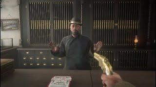 Robbing A Gun Store {Red Dead Redemption 2}