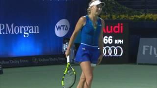 Highlights: WTA R3 - Wozniack d. Bondarenko