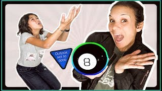 24 Hour CHALLENGE: MAGIC 8 BALL controls our day!
