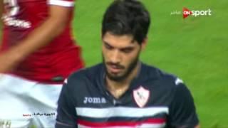 ملخص وأهداف مباراة الاهلي والزمالك في الدوري المصري 2 - 0     -
