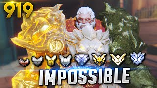 /would you guess his rank impossible overwatch daily moments ep 919 funny and random moments