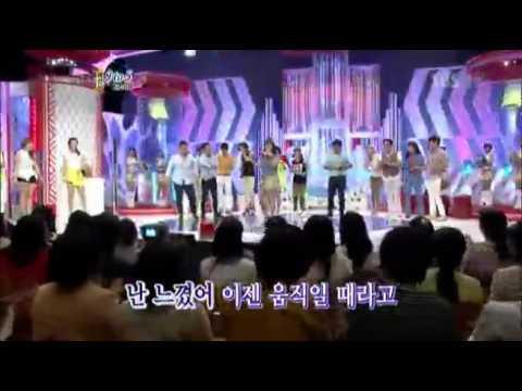 박나래 '9 to 5' @도전 1000곡 20120923