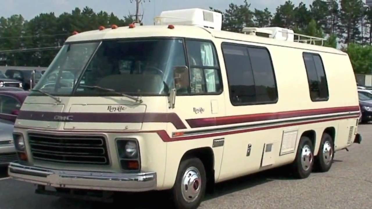 1978 Gmc Royale 26 Motorhome Youtube