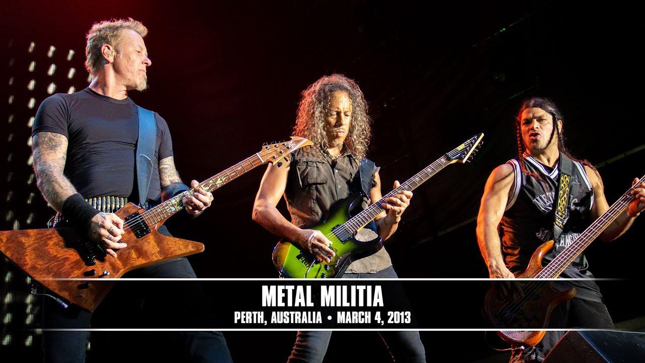 Metallica: Metal Militia (MetOnTour - Perth, Australia ...