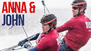 Nacra 17 Team Anna Burnett & John Gimson - British Sailing Team Olympic Hopefuls