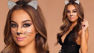 Simple & Sexy Kitty Cat Halloween Costume!