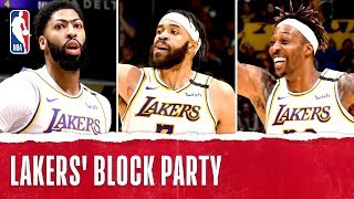 Lakers' Block Party!