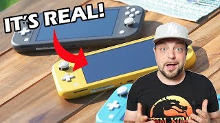 Nintendo Switch Lite REACTION - PROS and CONS of NEW Switch!