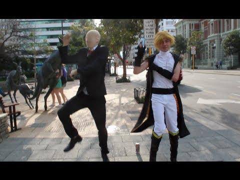 Baixar SLENDER MAN vs GANGNAM STYLE (강남스타일)