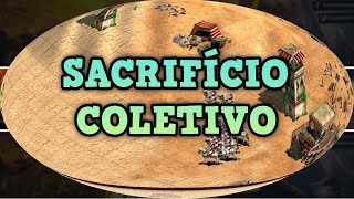 Age of Empires 2 HD Sacrifício Coletivo AoE2HD Gameplay PT BR