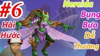 Nereida Monster Legends  dễ thương vui nhộn hài hước Thế Giới Quái Vật Cười bể bụng New 6