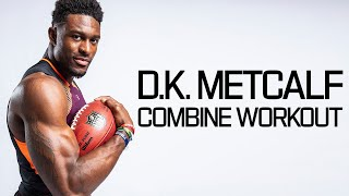 D. K. Metcalf's Ridiculous Batman Level Workout! | 2019 NFL Combine Highlights