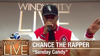 """Chance The Rapper performs """"Sunday Candy"""" on Windy City LIVE!"""