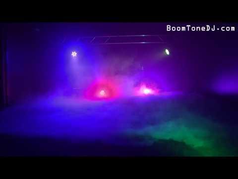 Vidéo BoomToneDJ - Floor fog