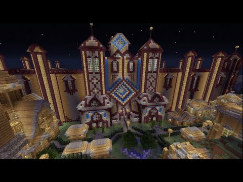 Minecraft Xbox - Colosseum - Arcancia City - Part 1 - Smashpipe Games