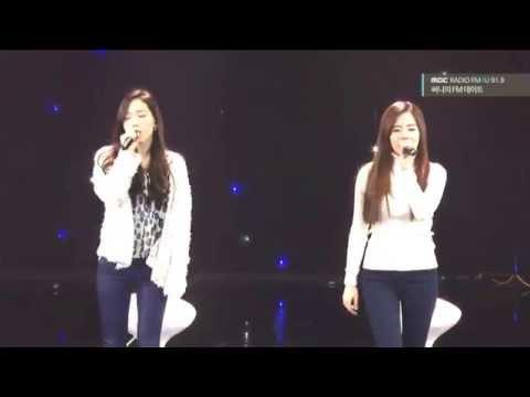 150214 Taeyeon x Sunny- Ma Boy Live