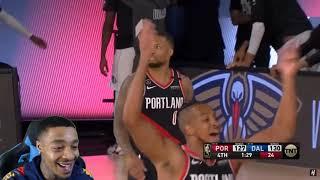 Dame 61 Pts! FlightReacts Portland Trail Blazers vs Dallas Mavericks - Full Game Highlights!