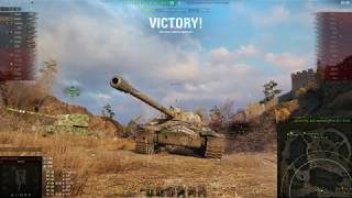 World of Tanks(IS-7 Average player game play)