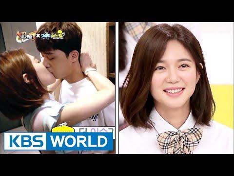 "Elijah talks about her kissing scene with ParkSeojun!…""I was so nervous!""[Happy Together/2017.08.31]"