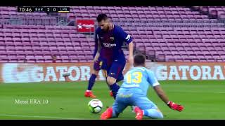 اهداف ليونال ميسي في الدوري الاسباني     -