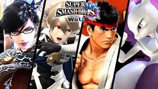 Super Smash Bros ALL DLC Character Trailers - Bayonetta, Corrin & More (Wii U, 3DS)