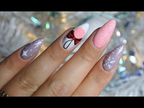 świąteczne Pazurki X Tmas Nails Sleek Shine Videomovilescom