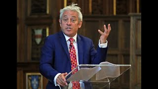 Commons Speaker John Bercow delivers talk and answers questions at NYU – watch live