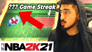 I GOT MY BIGGEST WIN STREAK EVER in NBA 2K21 (UNBELIEVABLE!)