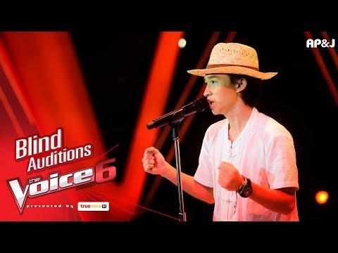 ไม้หมอน - ฟ้าสูงหญ้าต่ำ - Blind Auditions - The Voice Thailand 6 - 12 Nov 2017