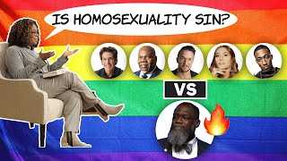 """Oprah Asks, """"Is Homosexuality Sin?"""" What Do You Say? (Voddie v Osteen, Jakes, Lentz, Daigle, Lecrae)"""