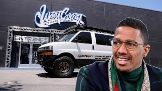 Nick Cannon's Van Lift & Bumper | West Coast Customs Delivery and Tour