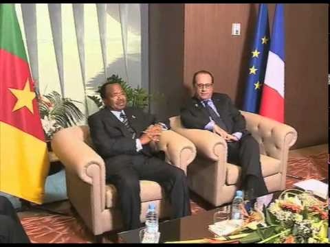 LES AUDIENCES DE S.E PAUL BIYA A DAKAR