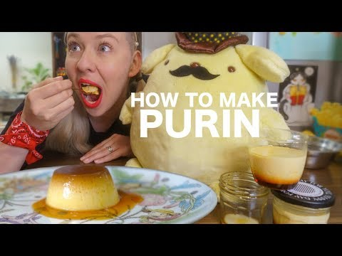 How to Make AMAZING Japanese Pudding/Purin