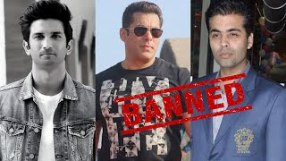 Sushant death: Protesters demand ban on Salman Khan, Karan..