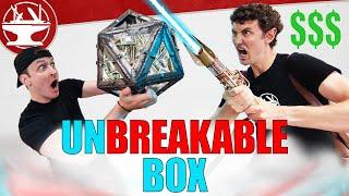 UNBREAKABLE BOX vs LIGHTSABER ( $$$ Prize Challenge!)