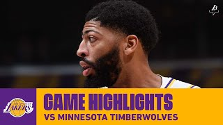 """""""An old school, smash mouth way of getting 50"""" Anthony Davis goes off vs Minnesota"""