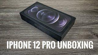 iPhone 12 Pro Graphite Unboxing & Setup