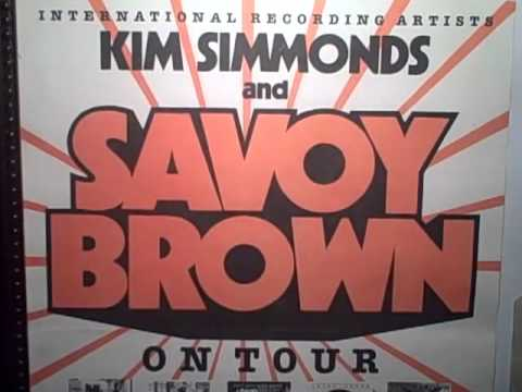Savoy Brown - All Burned Out written by Kim Simmonds produced by Neil Norman