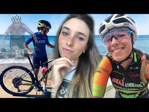 """Giulia Bertoni a """"Cicliste in streaming"""""""