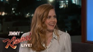 Amy Adams Rejected a Hug from Brad Pitt