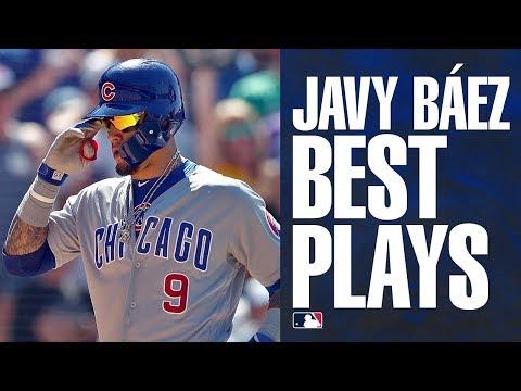 Javier Báez's Top Plays of 2019 | (Javy Báez Cubs Highlights)